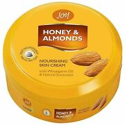 Joy Honey And Almonds Nourishing Skin Cream With Wheatgerm Oil And Natural 1000 Ml