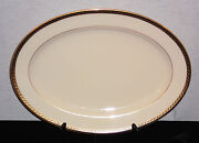 Discontinued Lenox China Tyler Pattern Oval Platter 16 Long New