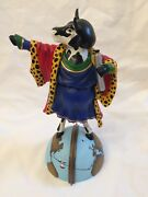 Cowlumbus 2006 Cow Parade Figurine 7730 Retired Limited Edition Statue 1604