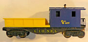 Lionel 6219 Chesapeake And Ohio Work Caboose With Wrong Yellow Work Tray