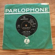 The Chantelles I Want That Boy / London My Home Town Parlophone 7andrdquo Vinyl Single