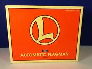Lionel O Scale Automatic Flagman 1045 New 6-12892 Animated