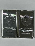 2- 10 Oz Scottsdale Stacker® .999 Silver Consecutive Bars 3496 And 3497