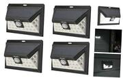 Mr Beams Solar Wedge Plus 24 Led Security Outdoor Motion Sensor Wall 4 Pack