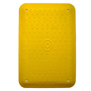 Trench Cover 1200 X 800 - Traffic Management Road Safety Manhole Cover Yellow