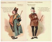 Lot 24 Tuck Kyd Characters From Charles Dickens Art Postcards