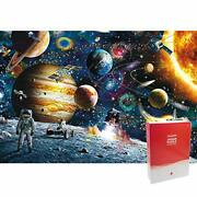 Minisan 1000 Piece Jigsaw Puzzle Astronaut Man In Out Space 50x75 Cm