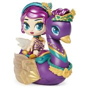 Hatchimals Pixies Riders Lilac Luna Pixie And Swanling Glider Set With Mystery