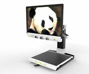 Zoomax - Panda 19 Inch Widescreen Lcd Color Auto Focus Video Magnifier