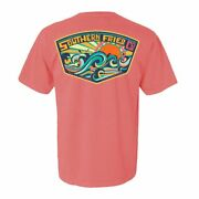 Southern Fried Cotton Ladies Make Some Waves Ss T-shirt Sfm11577