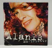 Autographed Hand Signed Alanis Morissette Cd Booklet So-called Chaos - No Cd
