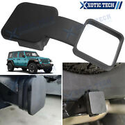 2 Inches Trailer Tow Hitch Receiver Cover Plug Dust Cap For Jeep Wrangler Jk Tj