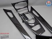 Mercedes 2005-2008 R230 Sl63 Only Gloss Finish 4 Pieces Carbon Interior Trim Kit