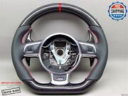 Audi Tts 4f Rs6 Rs3 S3 R8 Ttrs 5 Red Ring Napa Carbon Small Steering Wheel V3