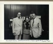 Ronald Reagan 40th Us President Autograph, Signed Photo