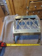 Large Vintage Trivet Brass Stand For Fireplace / Plant Stand