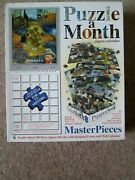 Puzzle A Month Jigsaw Calendar Masterpieces 12 Different Jigsaw,s Double Sided