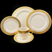 Westchester By Lenox 5 Piece Place Setting Dinner Plate Scratch New Never Used