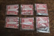 6 Southco Knurled-head Quarter-turn Fasteners P/n 82-13-160-16 And Catches Lot