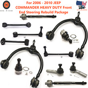 For 2006 - 2010 Jeep Commander Heavy Duty Front End Steering Rebuild Package