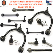 Complete Front End Steering Kit For Jeep Commander 2006 2007 2008 2009 2010
