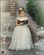 Cream Couture Dress Dollcake Happily Ever After Gown First Communion Size 10 Nwt