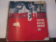 1962 Service And Safety Check Automobile Guide - Esso - Thick Automobile Booklet