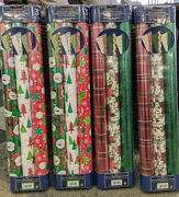 12 Rolls - Doubled Sided - Kirkland Signature Christmas Gift Wrap Wrapping Paper