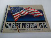 100 Best Posters 1942 Outdoor Advertising Incorporated Rare Vintage Graphics