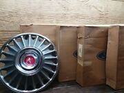 4- Nos 1967 67 Ford Mustang Set 14andrdquo Hubcaps Coupe Fastback Convertible C7zz1130b