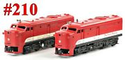 Lionel Pw 210 Texas Special Alco A-a Diesel Set /039/ 1958 Good