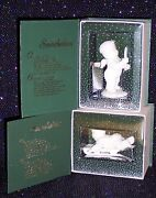 Snowbabies Retired Lot Of 2 Hold On Tight And Just One Little Candle New In Box