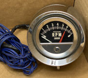 Vintage 1960and039s 1970and039s Dixco Bullet 8k Tachometer Tach Working
