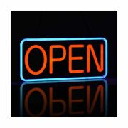 Led Neon Open Sign For Business,ultra-long Power Cord,two Modes Flashing And St...