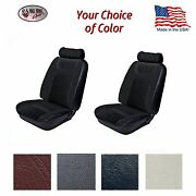 F/r Low Back Bucket Seat Upholstery 1979 - 80 Fox Body Mustang Hatchback