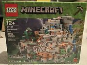 New Sealed Lego Minecraft - 21137 - Rare - The Mountain Cave Retired