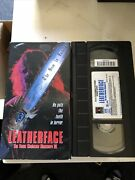 Leatherface The Texas Chainsaw Massacre 3 Vhs, 1996 Horror