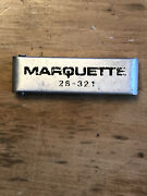 Vintage Marquette, Torch Tip Cleaning Cleaning Tool Kit 2s-321, Set In Case
