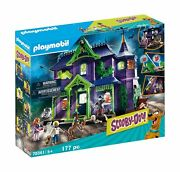 Playmobil Scooby-doo Adventure In The Mystery Mansion Playset