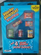 Topps Wacky Packages Erasers 12 Collectibles Brand New Nib