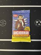 Sealed Anchorman Trading Card Pack Heavy Psa 10 Ron Burgundy Vmax