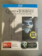 White Walker Glow Pop With Game Of Thrones Blu-ray Season 3 Limiteded Box Set