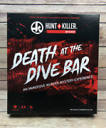 Hunt A Killer - Death At The Dive Bar Murder Mystery Excellent Used Condition