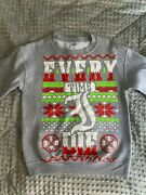 Every Time I Die Ugly Holiday Sweater 2012 Edition Size Small Christmas Crewneck
