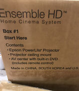 Home Theater System Epson Nib Projector 8 Boxes Sealed Check Online For Info