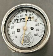 Indian Motorcycle 2 1/2 Mini Speedo Used Parts Only