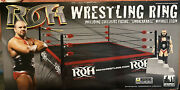 Mike Elgin Signed Ring Of Honor Action Figure Wrestling Ring Product Retired