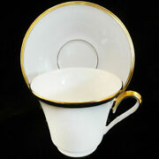 Eternal White By Lenox Tea Cup And Saucer Fine China New Never Used Made In Usa