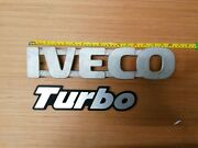 Metal Iveco Turbo Truck Badges