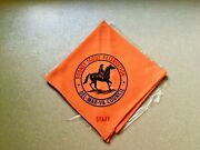 Vintage Rodney Scout Reservation Del-mar-va Council Staff Neckerchief Never Used